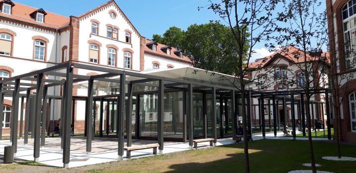 CATS-Bibliothek (Asienwissenschaften) der Universität Heidelberg. (Fotos: Michael Knoche CC BY-SA 3.0 DE)