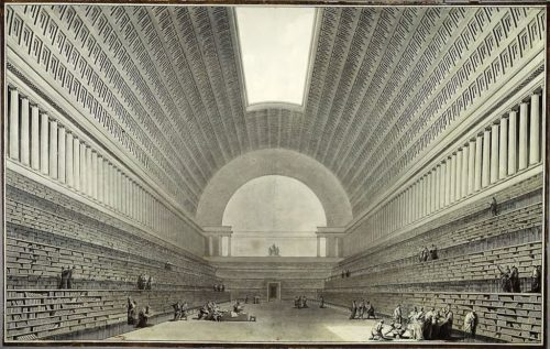 Bibliotheque nationale von boullee