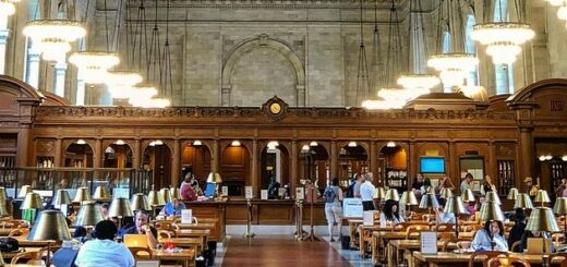 New York Publik Library Rose Reading Room