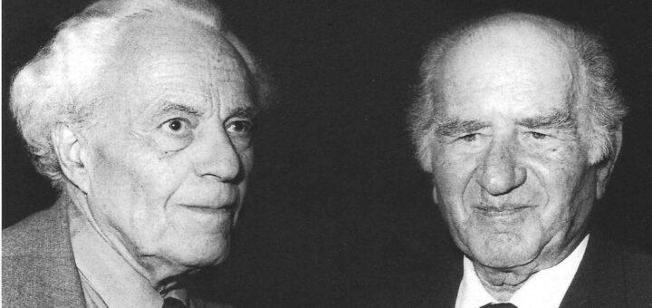 Fritz Landshoff und Gottfried Bermann-Fischer