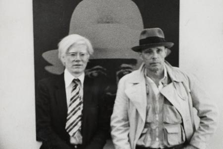 Joseph Beuys und Andy Warhol