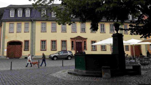 Goethe-Wohnhaus in Weimar