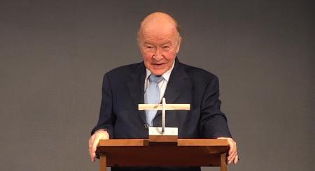 Klaus Saur bei einem Vortrag vor der Bayerischen Akademie der Schönen Künste am 27. Januar 2021. Videostill