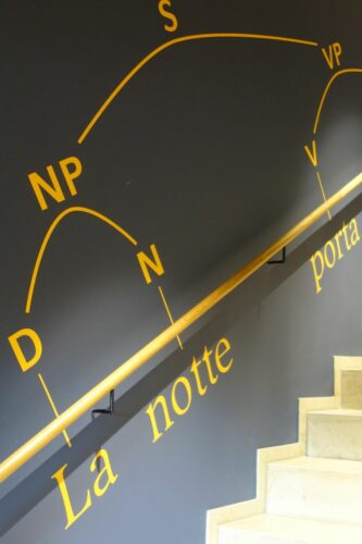 Treppenaufgang im Philologicum München